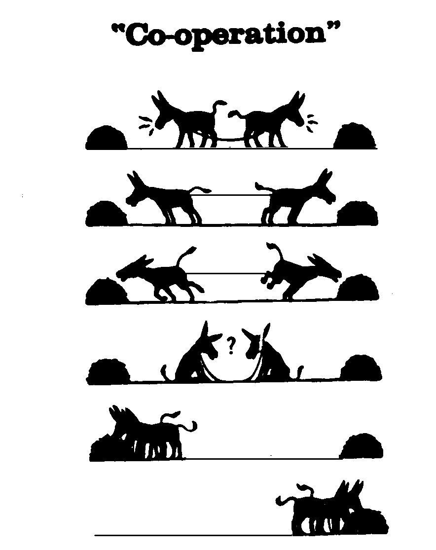 Cooperation mules